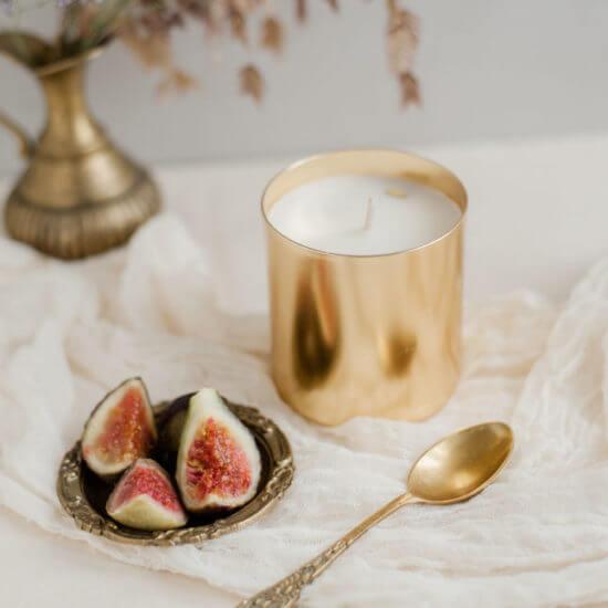 bougies parfumées figue
