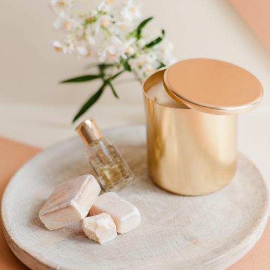 bougie parfumee musc