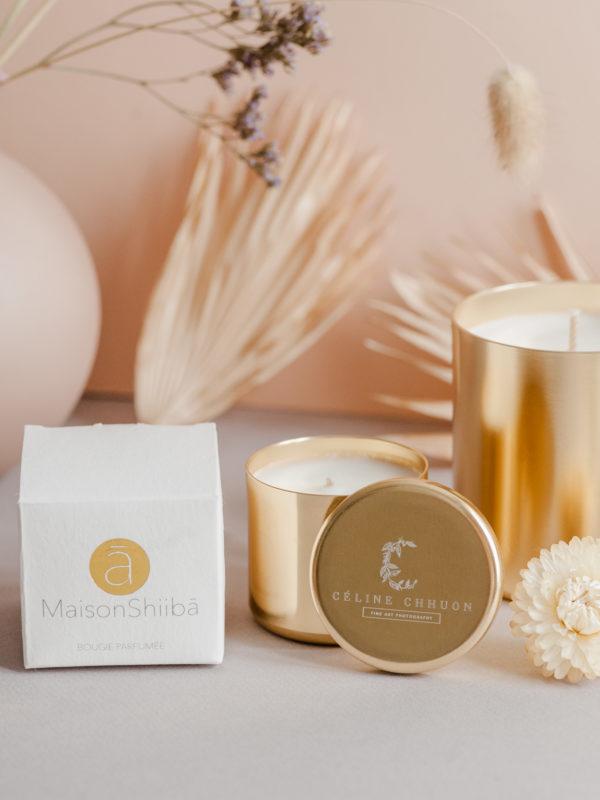 bougie parfumée naturelle bio